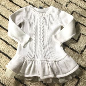 Baby Gap long sleeve sweater dress